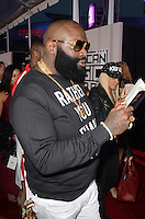 LOS ANGELES, CA - NOVEMBER 20: Rick Ross at Westwood One on the carpet at the 2016 American Music Awards at the Microsoft Theater in Los Angeles, California on November 20, 2016. Credit: David Edwards/MediaPunch