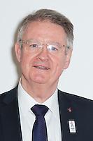 BERNARD LAPASSET CO-PRESIDENT DU COMITE DE CANDIDATURE PARIS 2024 - OPERATION J-100 DES JEUX OLYMPIQUES DE RIO AU PALAIS DE CHAILLOT