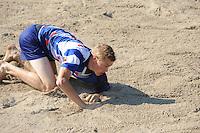 FIERLJEPPEN: VLIST: 22-08-2015, NK Fierljeppen/Polstokverspringen, Sytse Bokma, ©foto Martin de Jong