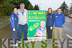 Operation Transformation star Paudie O'Mahony who is inviting everyone to the Kerry Recreation and Sports Partnership walk in Killarney on Saturday with l-r: Cora Carrigg, Paudie O'Mahony, Linda O'Shea and Eoin Murphy
