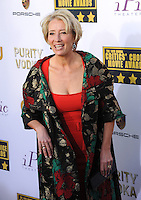 Emma Thompson at the 19th Annual Critics' Choice Awards at The Barker Hangar, Santa Monica Airport.<br /> January 16, 2014  Santa Monica, CA<br /> Picture: Paul Smith / Featureflash
