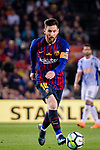 Lionel Messi of FC Barcelona in action during the La Liga match between Barcelona and Real Sociedad at Camp Nou on May 20, 2018 in Barcelona, Spain. Photo by Vicens Gimenez / Power Sport Images