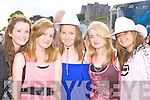 Castleisland rockers at the Pussycat Dolls Concert in Fitzgerald Stadium Killarney on Saturday was l-r: Sadhbh O'Connor, Sally Enright, Niamh Hannafin, Shannon Hickey and Christine Hickey.