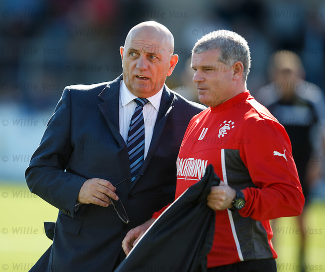 Dick Campbell and Ian Durrant