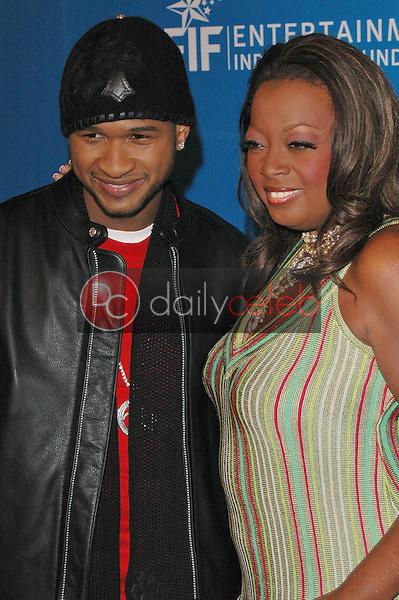 Usher and Star Jones
