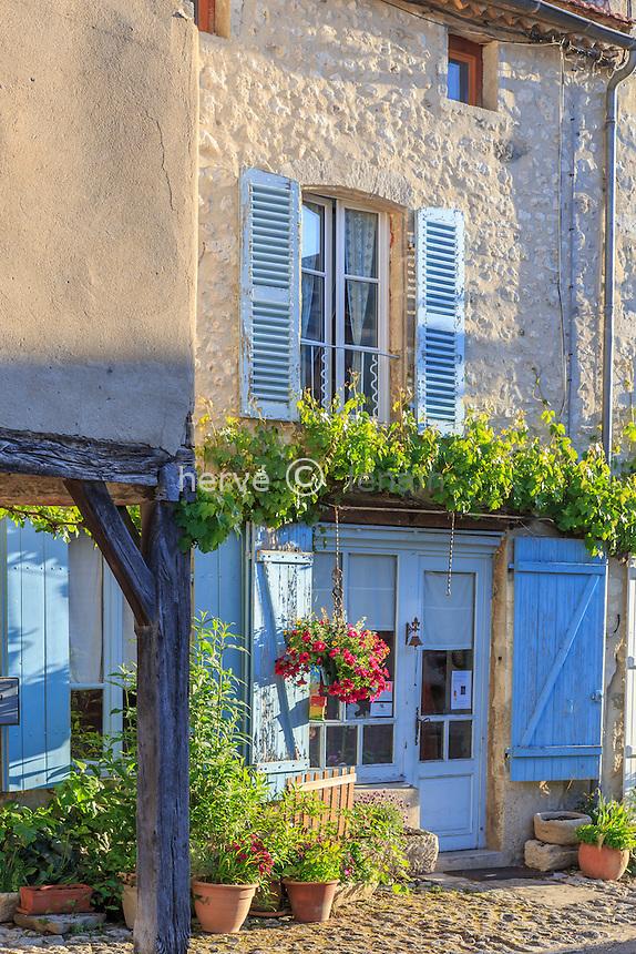 France, Allier (03), Charroux, labellisé Les Plus Beaux Villages de France // France, Allier, Charroux, labelled Les Plus Beaux Villages de France (The most beautiful villages of France)