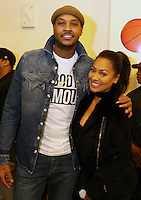 NEW YORK, NY - NOVEMBER 23, 2016 Carmelo & LaLa Anthony attend the Educational Alliance Boys & Girls Club Thanksgiving Event, November 23, 2016 in New York City. Photo Credit: Walik Goshorn / Mediapunch