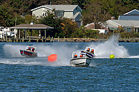 "JS-7 ""Rolling Thunder"" , JS-14 ""Red, White & Brew"", Mike Buturla, JS-712            (Jersey Speed Skiff(s)"