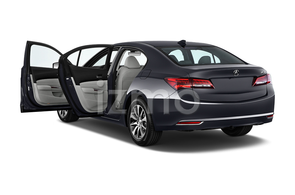 Car images close up view of 2015-2017 Acura TLX Technology 4 Door Sedan doors