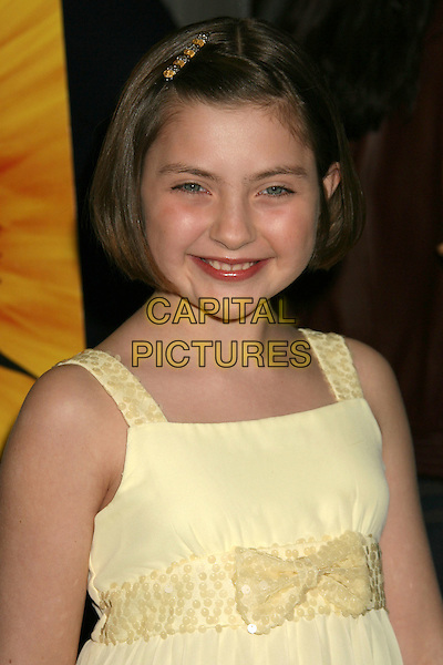 "MACKENZIE MILONE.""Phoebe In Wonderland"" Los Angeles Screening held at the Writers Guild Theater, Beverly Hills, California, USA, 1st March 2009..portrait headshot yellow hair slide clip sequined bow dress .CAP/ADM/MJ.©Michael Jade/Admedia/Capital Pictures"
