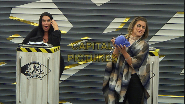 Celebrity Big Brother, Summer 2016, Day 23<br /> Renee Graziano, Katie Waissel<br /> *Editorial Use Only*<br /> CAP/KFS<br /> Image supplied by Capital Pictures