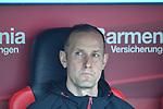 14.04.2018, BayArena, Leverkusen , GER, 1.FBL., Bayer 04 Leverkusen vs. Eintracht Frankfurt<br /> im Bild / picture shows: <br /> Heiko Herrlich Trainer (Bayer Leverkusen),<br /> <br /> <br /> Foto &copy; nordphoto / Meuter