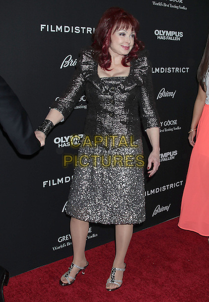 "Naomi Judd.""Olympus Has Fallen"" Los Angeles Premiere held at ArcLight Cinemas Cinerama Dome, Hollywood, California, USA..March 18th, 2013.full length black sparkly dress silver clutch bag skirt .CAP/ADM/RE.©Russ Elliot/AdMedia/Capital Pictures."
