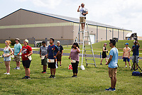 NWA Democrat-Gazette/CHARLIE KAIJO Band director <br />