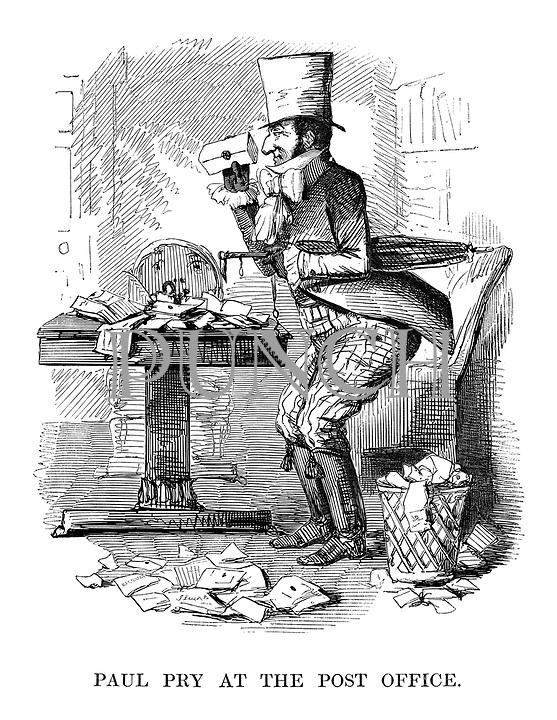 Victorian Era Postal History Cartoons From Punch Magazine Punch
