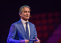 Rotterdam, Netherlands, December 16,  2017, Topsportcentrum,  KNLTB Jaarcongres,  Mark Koevermans keynote speaker<br /> Photo: Tennisimages/Henk Koster