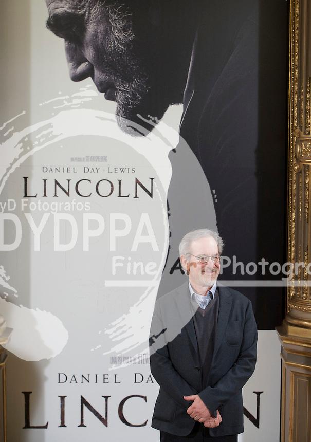 American film director Steven Spielberg