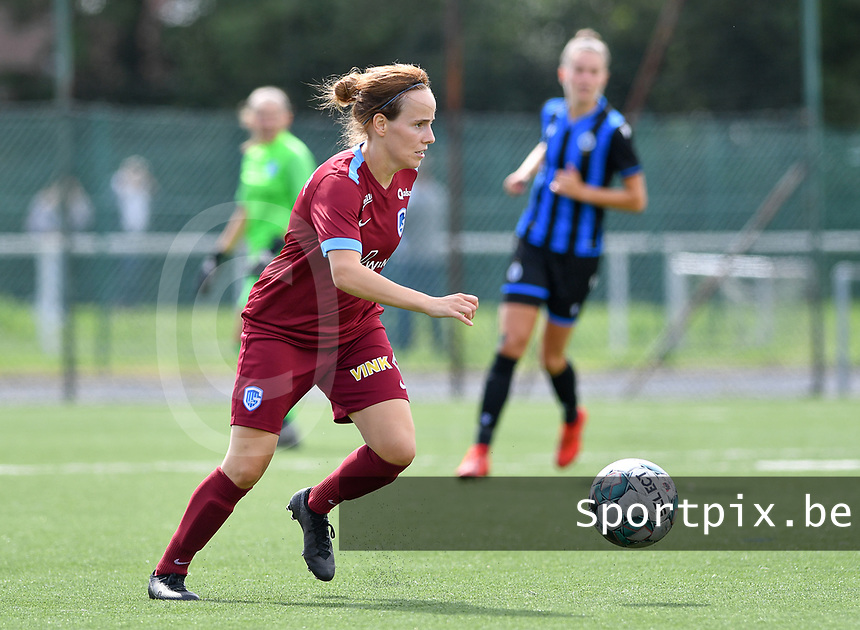 Silke Sneyers of Racing Genk pictured during a female soccer game between Club Brugge Dames YLA and Racing Genk Ladies on the second matchday of the 2020 - 2021 season of Belgian Scooore Women s SuperLeague , saturday 5 th of September 2020  in Brugge , Belgium . PHOTO SPORTPIX.BE | SPP | DAVID CATRY