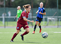 Silke Sneyers of Racing Genk pictured during a female soccer game between Club Brugge Dames YLA and Racing Genk Ladies on the second matchday of the 2020 - 2021 season of Belgian Scooore Women s SuperLeague , saturday 5 th of September 2020  in Brugge , Belgium . PHOTO SPORTPIX.BE   SPP   DAVID CATRY