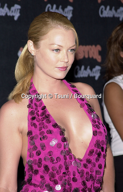 """Charlotte Ross arriving at the """" N'Sync and Jive Records party """" at the Moomba in Los Angeles. July 23, 2001    © Tsuni          -            RossCharlotte06.jpg"""
