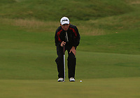 Philip Byrne (Ballybunion) on the 5th green during the Munster Final of the AIG Junior Cup at Tralee Golf Club, Tralee, Co Kerry. 13/08/2017<br /> Picture: Golffile | Thos Caffrey<br /> <br /> <br /> All photo usage must carry mandatory copyright credit     (&copy; Golffile | Thos Caffrey)