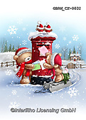 Roger, CHRISTMAS ANIMALS, WEIHNACHTEN TIERE, NAVIDAD ANIMALES, paintings+++++,GBRMCX-0031,#xa#