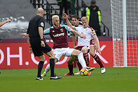 Marko Arnautovic of West Ham during West Ham United vs Burnley, Premier League Football at The London Stadium on 10th March 2018