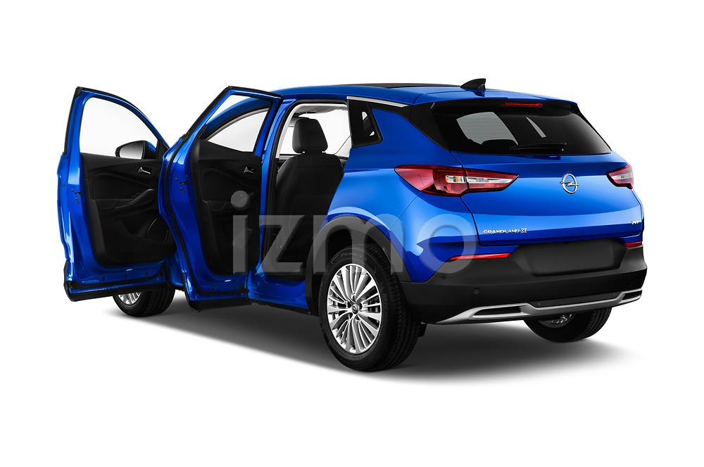 Car images close up view of a 2018 Opel Grandland X Innovation 5 Door SUV doors