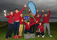 Ballybunion winners of the Munster Final of the AIG Junior Cup at Tralee Golf Club, Tralee, Co Kerry. 13/08/2017<br /> <br /> Picture: Golffile | Thos Caffrey<br /> <br /> All photo usage must carry mandatory copyright credit     (&copy; Golffile | Thos Caffrey)