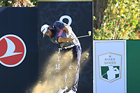 Andrew Johnston (ENG) tees off the 8th tee during Saturday's Round 3 of the 2018 Turkish Airlines Open hosted by Regnum Carya Golf &amp; Spa Resort, Antalya, Turkey. 3rd November 2018.<br /> Picture: Eoin Clarke | Golffile<br /> <br /> <br /> All photos usage must carry mandatory copyright credit (&copy; Golffile | Eoin Clarke)