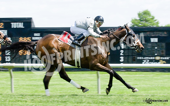 Jasser winning at Delaware Park racetrack on 5/31/14