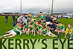 Winner St. Brendans Collage Killarney in the  Dunloe Cup Final at Kerins O'Rahillys GAA ground strand Road on Friday : St. Brendans 2-18 IS Killorglin 1-13