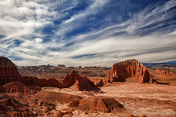 Stunning rock formations captured in Utah's Cathedral Valley