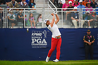 Sei Young Kim (KOR) watches her tee shot on 1 during round 4 of the KPMG Women's PGA Championship, Hazeltine National, Chaska, Minnesota, USA. 6/23/2019.<br /> Picture: Golffile | Ken Murray<br /> <br /> <br /> All photo usage must carry mandatory copyright credit (© Golffile | Ken Murray)