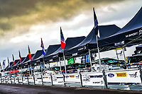 13th February 2020, Torsby base and Karlstad, Värmland County, Sweden; WRC Rally of Sweden, Shakedown event;  The garage and pit areas
