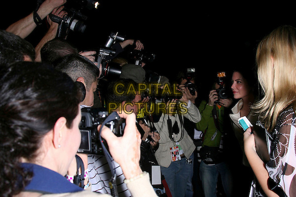 LARA FLYNN BOYLE.Mercedes-Benz Fall 2006 L.A. Fashion Week - DAY 4 Arrivals held at Smashbox Studios, Culver City, California, USA..March 22nd, 2006.Photo: Zach Lipp/AdMedia/Capital Pictures.Ref: ZL/ADM.photographers paparazzi.www.capitalpictures.com.sales@capitalpictures.com.© Capital Pictures.
