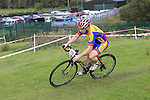 Action from Lakeside Wheelers Cyclocross races at Marlinstown, Mullingar, Ireland. 9th October 2016.<br /> Picture: Eoin Clarke   Newsfile<br /> <br /> <br /> All photos usage must carry mandatory copyright credit (© Newsfile   Eoin Clarke)