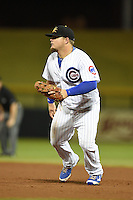 Mesa Solar Sox infielder Dan Vogelbach (22) during an Arizona Fall League game against the Peoria Javelinas on October 16, 2014 at Cubs Park in Mesa, Arizona.  Mesa defeated Peoria 6-2.  (Mike Janes/Four Seam Images)