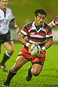 Notise Tauafao. Counties Manuaku Steelers vs Northland pre-season Air New Zealand NPC rugby game played at Bayer Growers Stadium Pukekohe on July 24th 2009..Northland won 10 - 3.