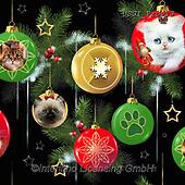 GIORDANO, GIFT WRAPS, GESCHENKPAPIER, PAPEL DE REGALO, Christmas Santa, Snowman, Weihnachtsmänner, Schneemänner, Papá Noel, muñecos de nieve, paintings+++++Fireside Kitties Ornaments,USGIPROV13,#gp#,#x# ,cat,cats