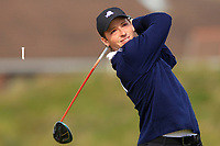 Stefano Mazzoli (ITA) on the 5th tee during Round 1 of the The Amateur Championship 2019 at The Island Golf Club, Co. Dublin on Monday 17th June 2019.<br /> Picture:  Thos Caffrey / Golffile<br /> <br /> All photo usage must carry mandatory copyright credit (© Golffile | Thos Caffrey)