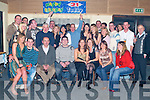 Party: Making the most of the night at his 21st birthday in The Hopper Inn, Ballyduff, was Padraig Harrington of Ballyduff (seated fourth from right), along with family and friends..