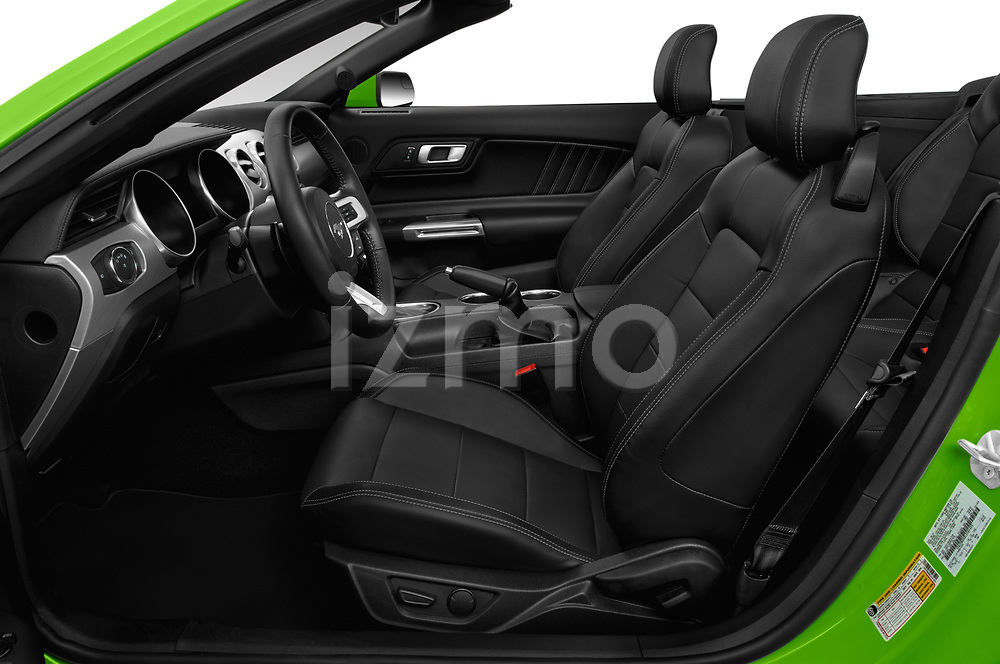 Front seat view of 2020 Ford Mustang EcoBoost-Premium 2 Door Convertible Front Seat  car photos