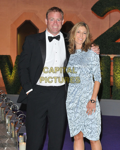 Mark Petchey &amp; Michelle Petchey at the Wimbledon Champions Dinner, The Guildhall, Gresham Street, London, England, UK, on Sunday 10 July 2016.<br /> CAP/CAN<br /> &copy;CAN/Capital Pictures