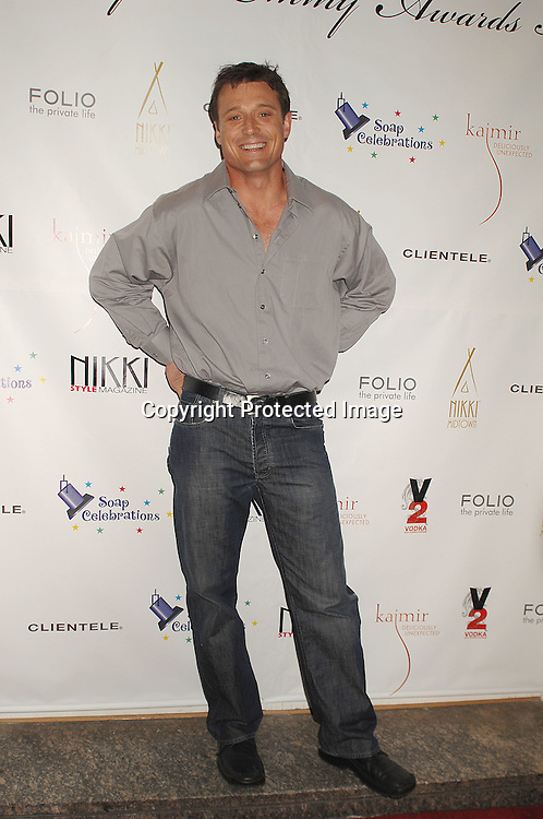 David Chisum of One Life to Live..at the 18th annual  Marcia Tovsky's  Pre-Daytime Emmy Awards Party on June 6, 2007 at Nikki Midtown. ..Robin Platzer, Twin Images......212-935-0770