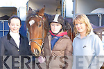 Aileen Moynihan, Sarah O'Connell and Ailish Cronin Gneeveguilla having fun at the Kingdom Hunt in Currow on Sunday