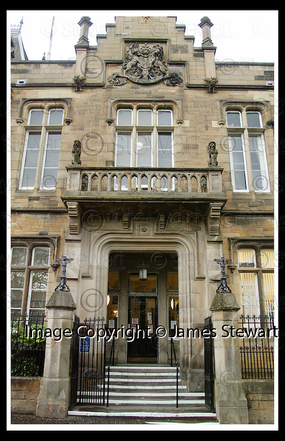 02/08/2006        Copyright Pic: James Stewart.File Name : sct_jspa01_alloa_sheriff_court.GENERAL VIEW : ALLOA SHERIFF COURT.......Payments to :.James Stewart Photo Agency 19 Carronlea Drive, Falkirk. FK2 8DN      Vat Reg No. 607 6932 25.Office     : +44 (0)1324 570906     .Mobile   : +44 (0)7721 416997.Fax         : +44 (0)1324 570906.E-mail  :  jim@jspa.co.uk.If you require further information then contact Jim Stewart on any of the numbers above.........