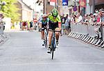 2018-07-15 / Wielrennen / Seizoen 2018 / Vrouwen Breendonk / Loes Sels wint de spurt tegen haar medevluchtster<br /> <br /> ,Foto: Mpics