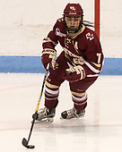 Kristyn Capizzano (BC - 7) - The Boston College Eagles defeated the Boston University Terriers 3-2 in the first round of the Beanpot on Monday, January 31, 2017, at Matthews Arena in Boston, Massachusetts.