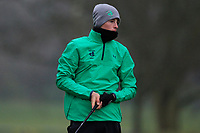 Luke O'Neill (Connemara GC) during the first round of the Peter McEvoy Trophy played at Copt Heath Golf Club, Solihull, England. 11/04/2018.<br /> Picture: Golffile | Phil Inglis<br /> <br /> <br /> All photo usage must carry mandatory copyright credit (&copy; Golffile | Phil Inglis)